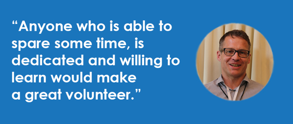 Meet Darren, one of our volunteer mentors